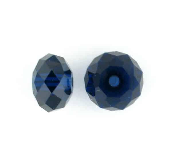 5040 - 6mm Swarovski Briolette Beads - Dark Indigo