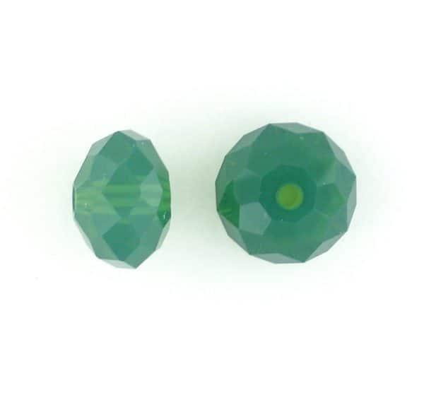 5040 - 6mm Swarovski Briolette Beads - Palace Green Opal