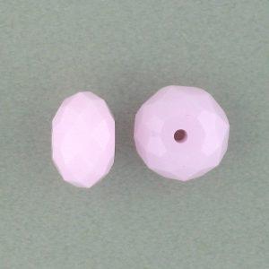 5040 - 8mm Swarovski Briolette Beads - Rose Alabaster