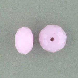 5040 - 6mm Swarovski Briolette Beads - Rose Alabaster