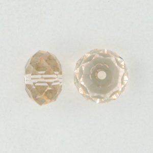 5040 - 6mm Swarovski Briolette Beads - Silk