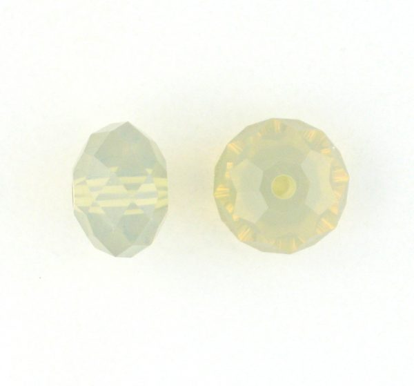 5040 - 8mm Swarovski Briolette Beads - Sand Opal