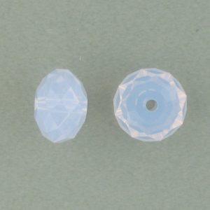 5040 - 8mm Swarovski Briolette Beads - Violet Opal