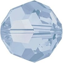 5000 - 6mm Swarovski Round Crystal Bead - Air Blue Opal