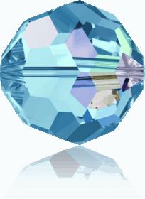 5000 - 6mm Swarovski Round Crystal Bead - Aquamarine AB