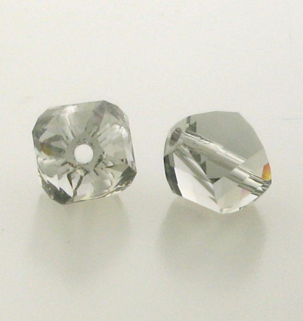 5020 - 4mm Swarovski Helix Beads - Black Diamond