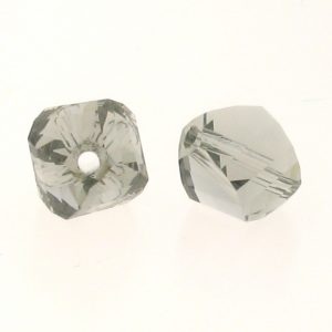 5020 - 6mm Swarovski Helix Beads - Black Diamond