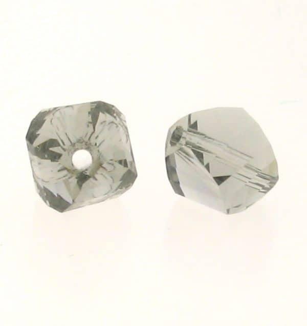 5020 - 6mm Swarovski Helix Beads - Black Diamond