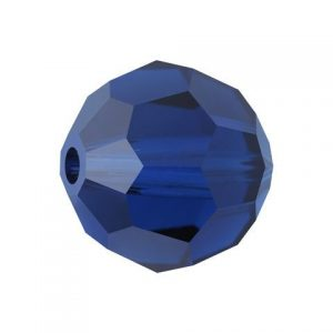 5000 - 4mm Swarovski Round Crystal - Cobalt Blue