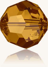 5000 - 6mm Swarovski Round Crystal Bead - Crystal Copper