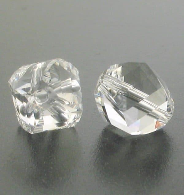 5020 - 4mm Swarovski Helix Beads - Crystal