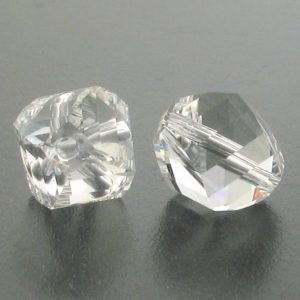 5020 - 6mm Swarovski Helix Beads - Crystal
