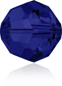 5000 - 6mm Swarovski Round Crystal Bead - Dark Indigo