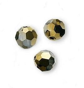 5000 - 4mm Swarovski Round Crystal - Crystal Dorado 2X