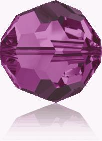 5000 - 6mm Swarovski Round Crystal Bead - Fuchsia