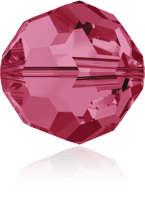 5000 - 6mm Swarovski Round Crystal Bead - Indian Pink