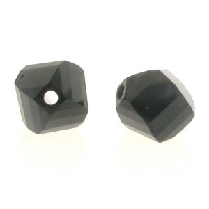 5020 - 6mm Swarovski Helix Beads - Jet