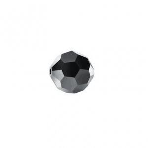 5000 - 4mm Swarovski Round Crystal - Jet Hematite