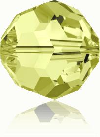 5000 - 6mm Swarovski Round Crystal Bead - Jonquil