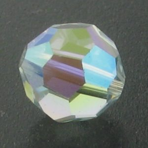 5000 - 6mm Swarovski Round Crystal Bead - Light Azore AB