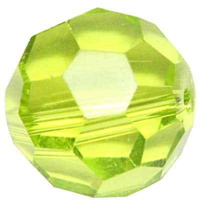 5000 - 6mm Swarovski Round Crystal Bead - Light Olivine