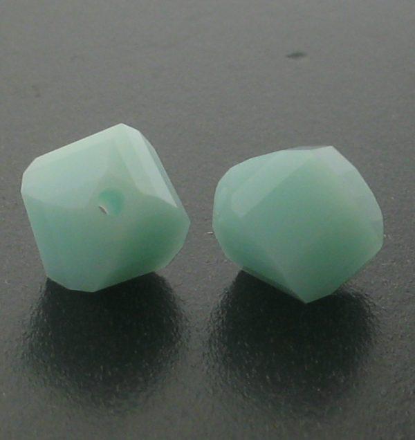 5020 - 8mm Swarovski Helix Beads - Mint Alabaster