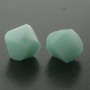 5020 - 6mm Swarovski Helix Beads - Mint Alabaster