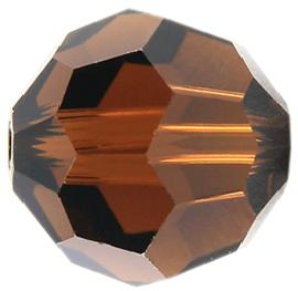 5000 - 6mm Swarovski Round Crystal Bead - Mocca