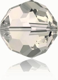 5000 - 6mm Swarovski Round Crystal Bead - Crystal Moonlight
