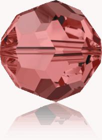 5000 - 6mm Swarovski Round Crystal Bead - Padpardascha