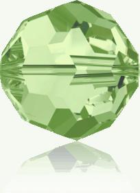 5000 - 6mm Swarovski Round Crystal Bead - Peridot