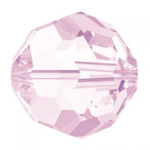 5000 - 6mm Swarovski Round Crystal Bead - Rosaline