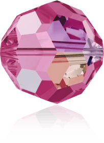 5000 - 6mm Swarovski Round Crystal Bead - Rose AB