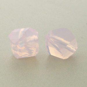 5020 - 8mm Swarovski Helix Beads - Rose Water Opal