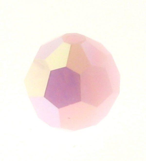 5000 - 6mm Swarovski Round Crystal Bead - Rose Alabaster AB