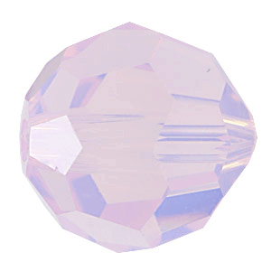 5000 - 6mm Swarovski Round Crystal Bead - Rose Water Opal