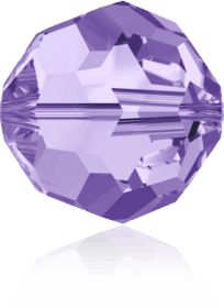 5000 - 6mm Swarovski Round Crystal Bead - Tanzanite