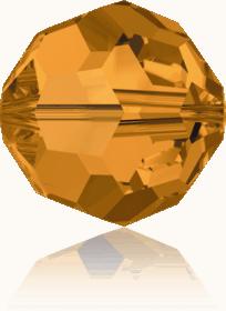 5000 - 6mm Swarovski Round Crystal Bead - Topaz