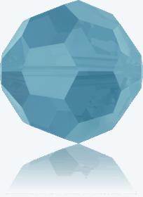 5000 - 6mm Swarovski Round Crystal Bead - Turquoise