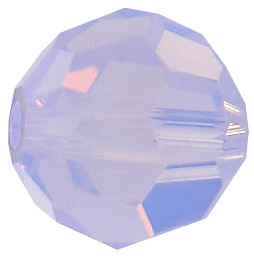 5000 - 6mm Swarovski Round Crystal Bead - Violet  Opal