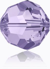 5000 - 6mm Swarovski Round Crystal Bead - Violet