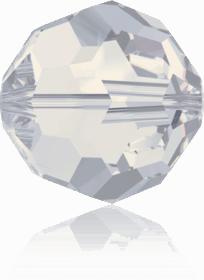 5000 - 6mm Swarovski Round Crystal Bead - White Opal