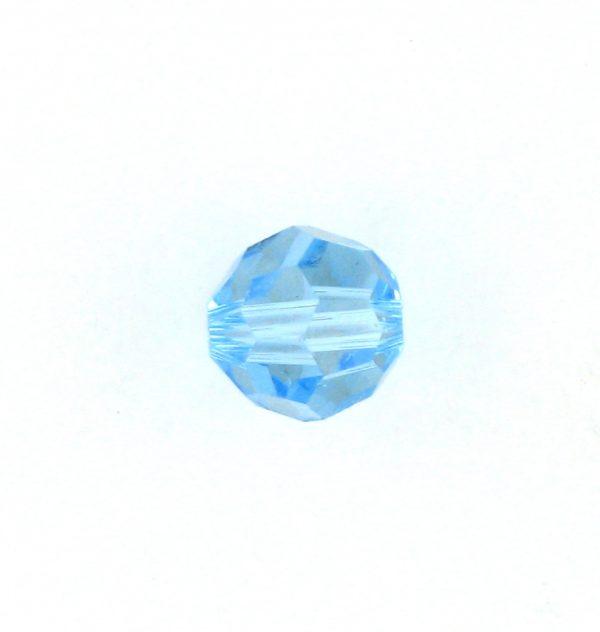 5000 - 3mm Swarovski Round Crystal -  Aquamarine