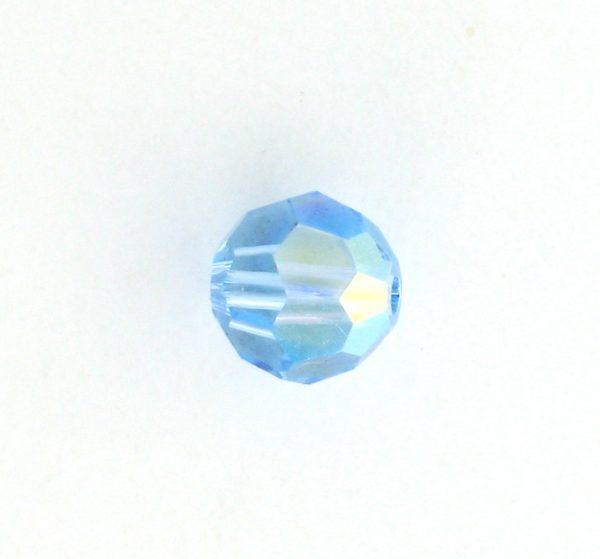5000 - 5mm Swarovski Round Crystal - Aquamarine AB