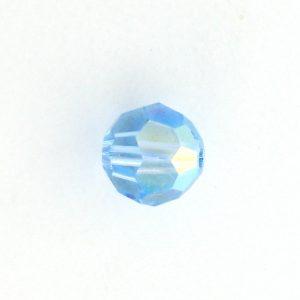 5000 - 3mm Swarovski Round Crystal - Aquamarine AB