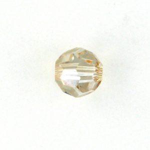 5000 - 3mm Swarovski Round Crystal - Golden Shadow