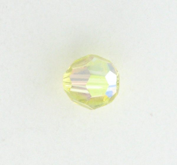 5000 - 5mm Swarovski Round Crystal - Jonquil AB