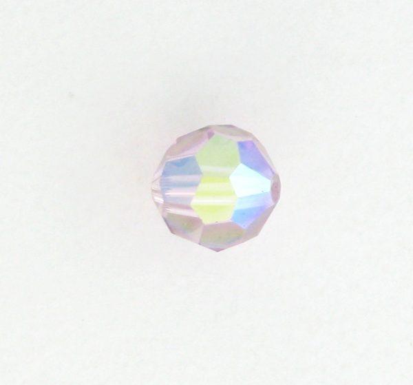 5000 - 5mm Swarovski Round Crystal - Light Amethyst AB