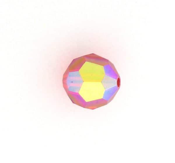 5000 - 5mm Swarovski Round Crystal - Light Siam AB