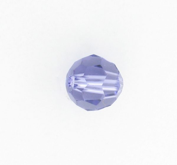 5000 - 5mm Swarovski Round Crystal - Tanzanite